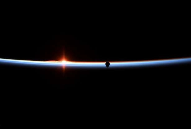 Slide 3 of 30: The SpaceX Crew Dragon capsule approaches in a photograph taken by NASA astro<em></em>naut Anne McClain aboard the Internatio<em></em>nal Space Station March 3, 2019.  Anne McClain/NASA/Handout via REUTERS REUTERS ATTENTION EDITORS - THIS IMAGE WAS PROVIDED BY A THIRD PARTY.      TPX IMAGES OF THE DAY