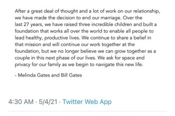 盖茨离婚因想提升自己顶级富豪们离婚的n个理由